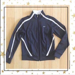 Nike Grey Zip up jacket (HP35B9K)